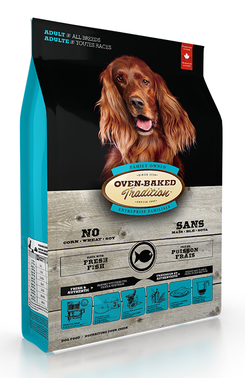 Adult Dog Food For All Breeds Fish 25lbs Boutiques D