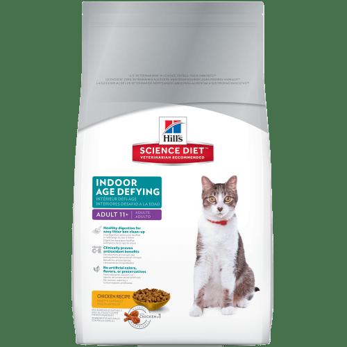 cat age for senior food diet